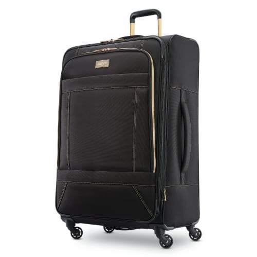 American Tourister Belle Voyage Spinner Luggage - Black Perspective: front
