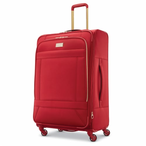 American Tourister Belle Voyage Spinner Luggage - Red Perspective: front