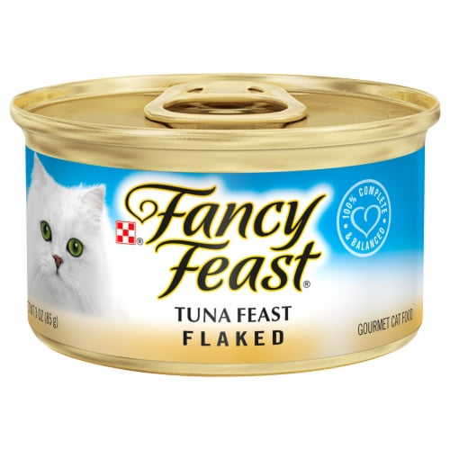 Fancy Feast Flaked Tuna Feast Wet Cat Food Perspective: front