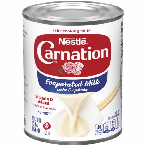 Carnation Evaporated Milk Perspective: front