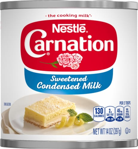 Carnation Sweetened Condensed Milk Perspective: front