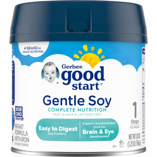 Gerber Good Start Lactose Free Soy Based Protein Infant Powder Formula Perspective: front