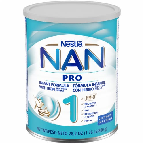 Nestle® NAN® Pro Infant Formula with Iron Powder Perspective: front