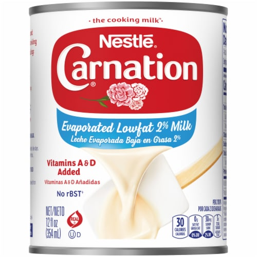 Carnation Evaporated Lowfat 2% Milk Perspective: front