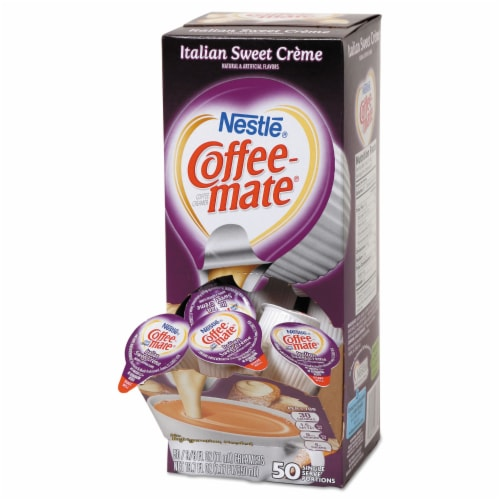 Nestle Coffee-Mate Italian Sweet Creme Coffee Creamer Perspective: front