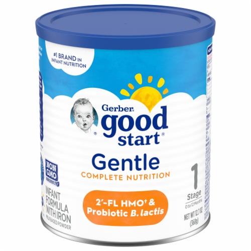 Gerber Good Start Everyday Probiotics Stage 1 Powder Infant Formula with Iron Perspective: front