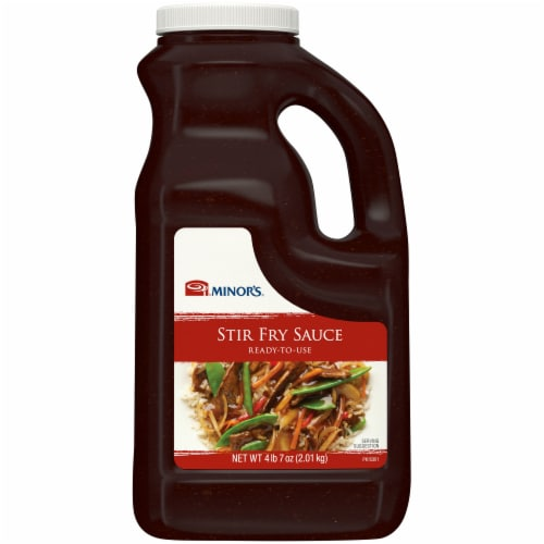 Minor's Ready To Use Stir Fry Sauce Perspective: front