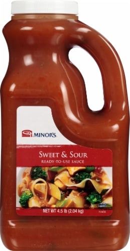 Minor's Sweet & Sour Sauce Perspective: front
