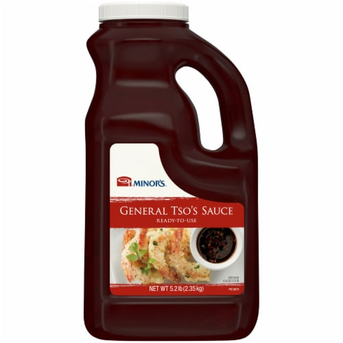 Minor's General Tso's Sauce Perspective: front