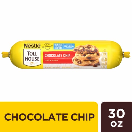 Nestle® Toll House® Chocolate Chip Cookie Dough Perspective: front