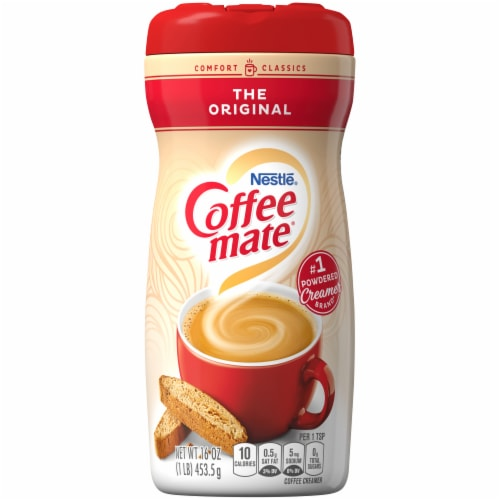Coffee-mate The Original Powdered Coffee Creamer Perspective: front