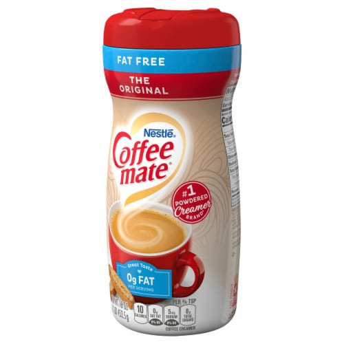 Nestle Coffee mate Original Fat Free Powdered Coffee Creamer Perspective: front