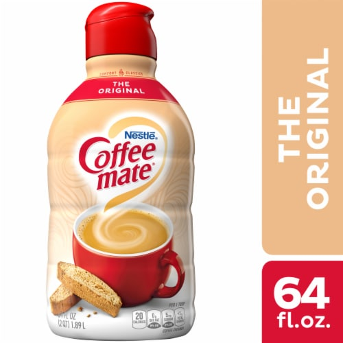 Nestle Coffee mate The Original Liquid Coffee Creamer Perspective: front