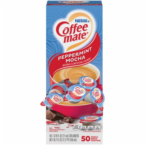 Nestle Coffee-Mate Peppermint Mocha Coffee Creamer Perspective: front