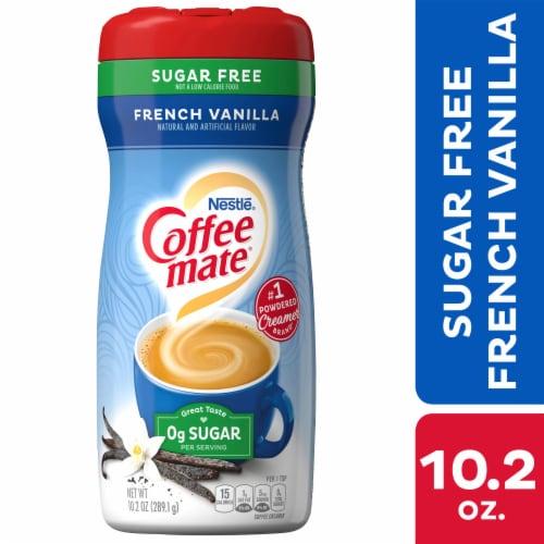 Coffee-mate Sugar Free French Vanilla Powder Coffee Creamer Perspective: front