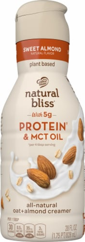 Coffee-mate Natural Bliss Protein Liquid Coffee Creamer Perspective: front