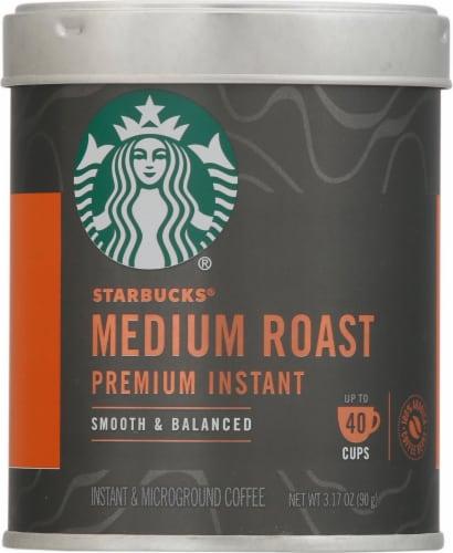 Starbucks Medium Roast Premium Instant Coffee Perspective: front