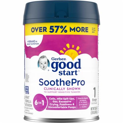 Gerber Good Start Comforting Probiotics Milk Based Infant Powder Formula Perspective: front