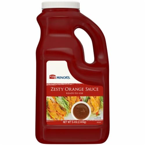 Minor's Zesty Orange Sauce Perspective: front