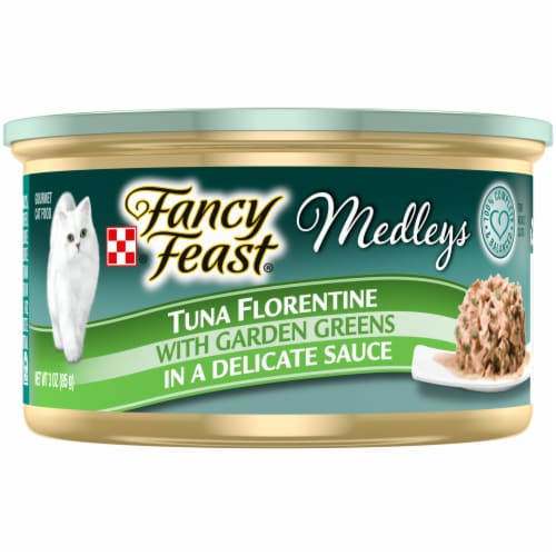 Purina Fancy Feast Medleys Tuna Florentine Wet Cat Food Perspective: front