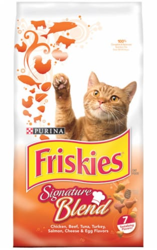 Friskies Tender & Crunchy Combo Dry Cat Food Perspective: front