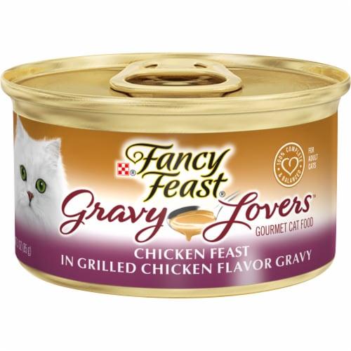 Fancy Feast Gravy Lovers Chicken Feast Wet Cat Food Perspective: front