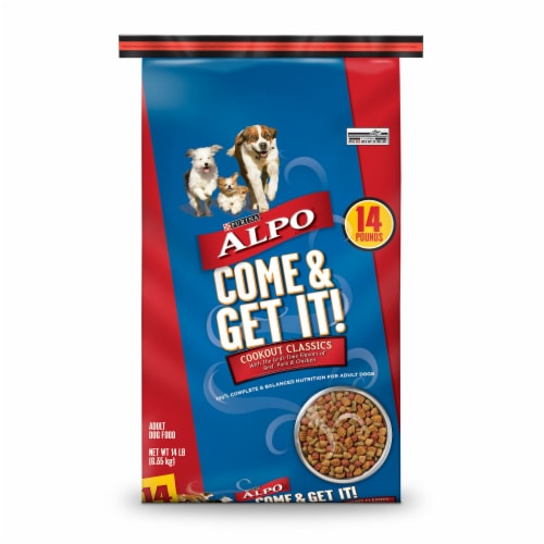 ALPO Come & Get It! Cookout Classics Dry Dog Food Perspective: front