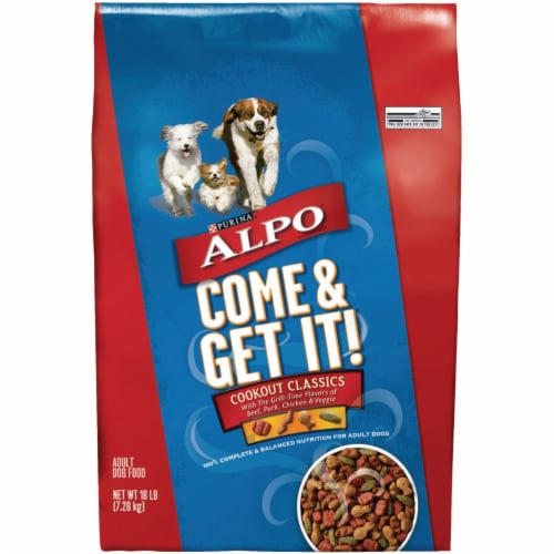 Alpo Come & Get It! 16 Lb. Dry Dog Food 050101 Perspective: front