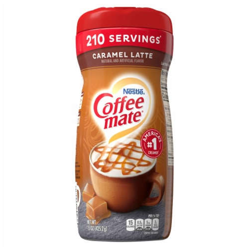 Coffee-mate Caramel Latte Powder Coffee Creamer Perspective: front