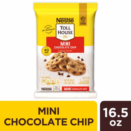 Nestle Toll House Mini Chocolate Chip Cookie Dough Perspective: front