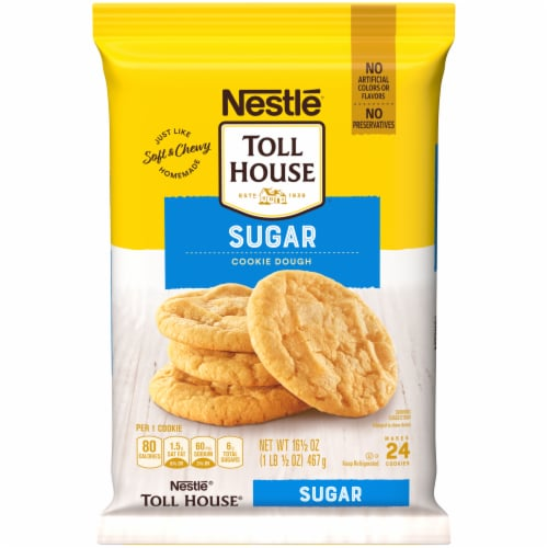 Nestle Toll House Sugar Cookie Dough Perspective: front