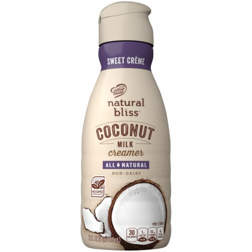Coffee-mate Natural Bliss Coconut Milk Liquid Coffee Creamer Perspective: front