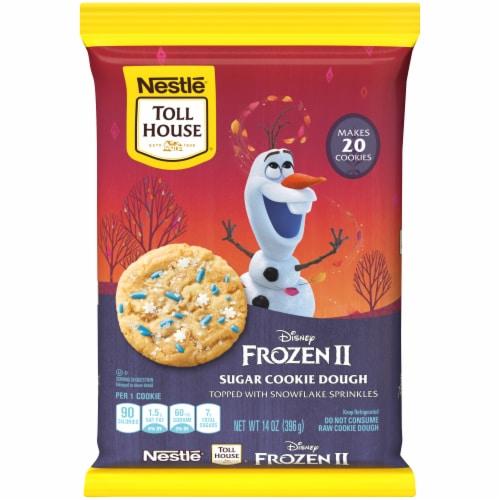 Nestle Toll House Disney Frozen 2 Sugar Cookie Dough Perspective: front