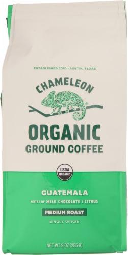 Chameleon Guatemala Organic Medium Roast Ground Coffee Perspective: front
