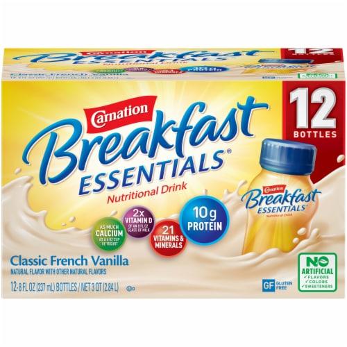 Carnation Breakfast Essentials Vanilla Nutritional Drink Perspective: front