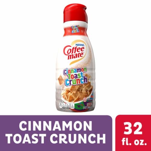 Nestle Coffee mate Cinnamon Toast Crunch Liquid Coffee Creamer Perspective: front