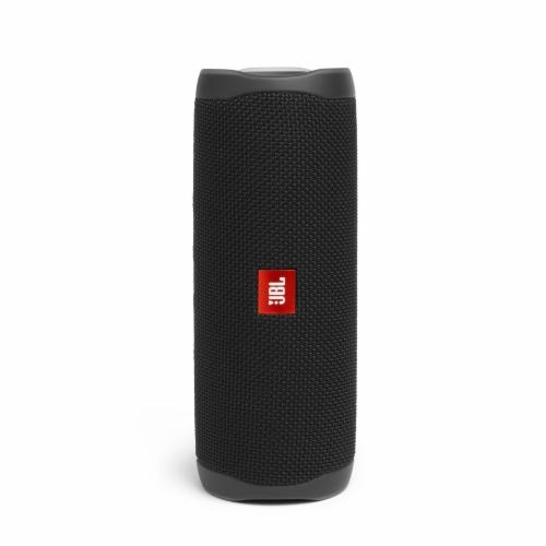 JBL Flip 5 Portable Bluetooth Speaker - Black Perspective: front