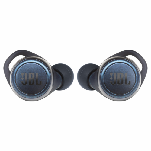 JBL Live 300TWS In-Ear True Wireless Earbuds - Blue Perspective: front