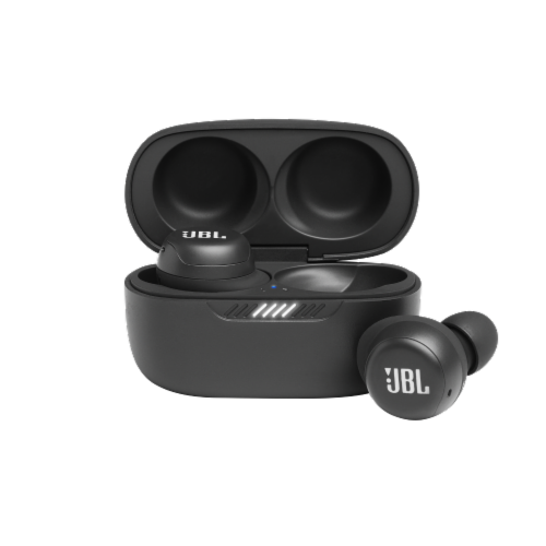 JBL Live FREENC Earbuds - Black Perspective: front