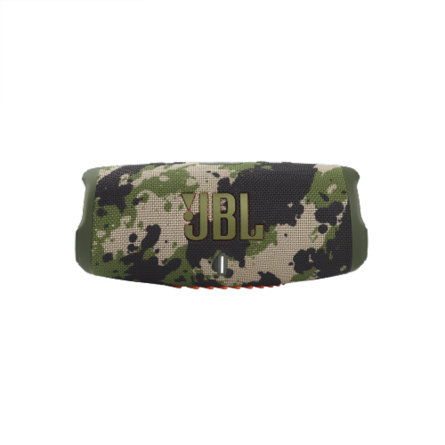 JBL Charge 5 Squad Bluetooth Speaker - Camo Perspective: front