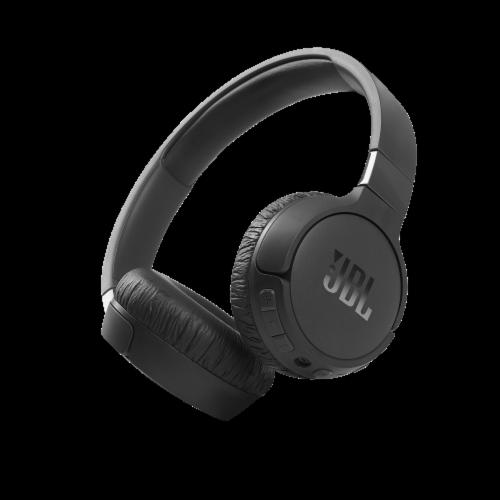 JBL T660NC On-Ear Headphones - Black Perspective: front