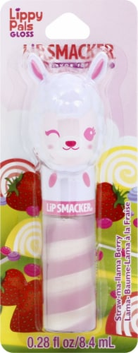 Lip Smacker Lippy Pals Straw-ma-llama Berry Lip Gloss Perspective: front