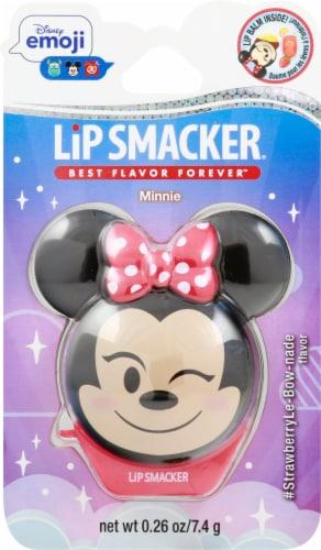 Lip Smacker Disney Emoji Minnie Mouse Lip Balm Perspective: front