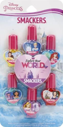 Lip Smakcer Disney Princess Nail Polish Collection Perspective: front