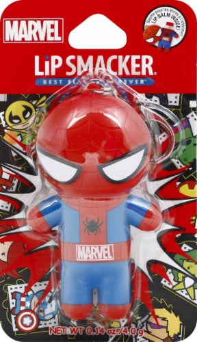 Lip Smacker Spiderman Lip Balm Perspective: front