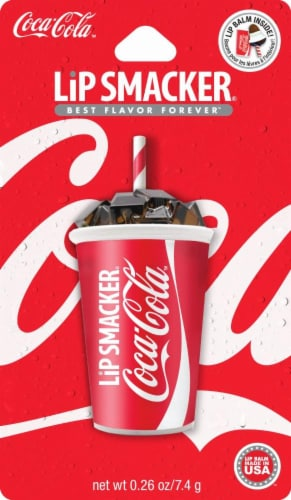 Lip Smacker Coca Cola Cup Lip Balm Perspective: front