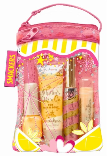 Smackers Pink Lemonade Glam Bag Perspective: front