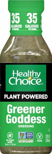 Healthy Choice Greener Goddess Plant-Based Power Dressing Perspective: front