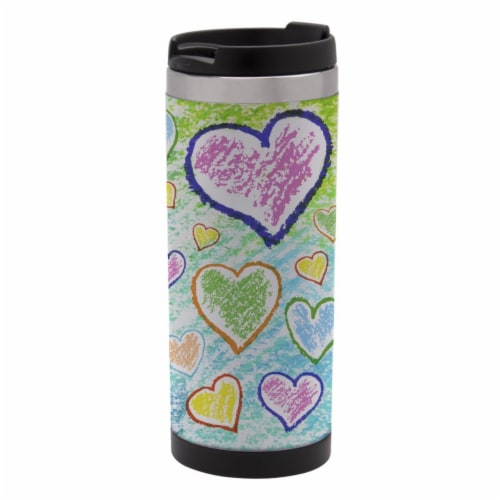 Neil Enterprises School Specialty Stainless Steel Tumbler, 12 oz Perspective: front