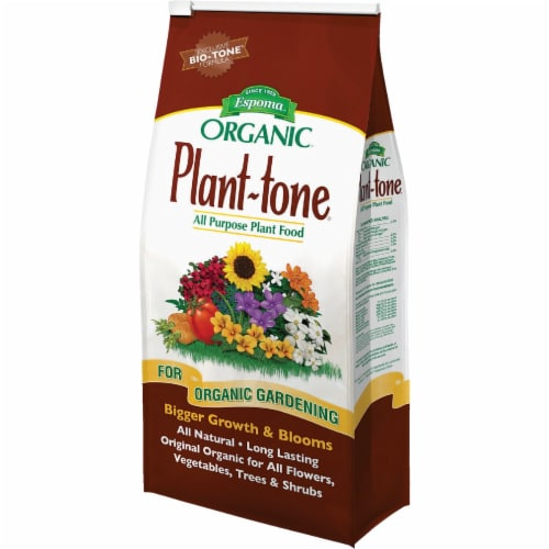Espoma Organic 4 Lb. 5-3-3 Plant-tone Dry Plant food PT4 Perspective: front